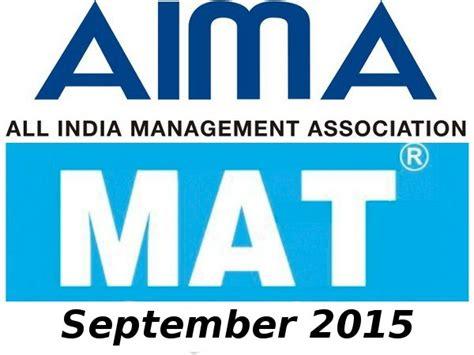 mat 2015 results announced careerindia