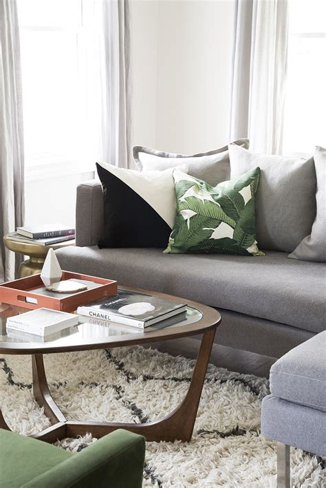 Coral And Gray Living Room by Switching Decor For Summer Room For Tuesday
