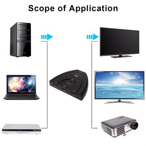 Kabel Hdmi To Hdmi Oximus Versi 20 Panjang 15meter Kualitas Terbaik kabel hdmi switch 3 port 4kx2k 3d black jakartanotebook