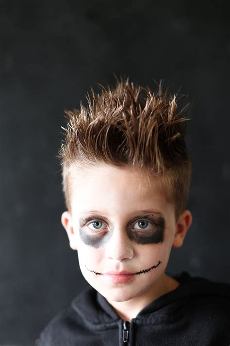 its said short hairstyles for kids easy spiky halloween hair for kids say yes