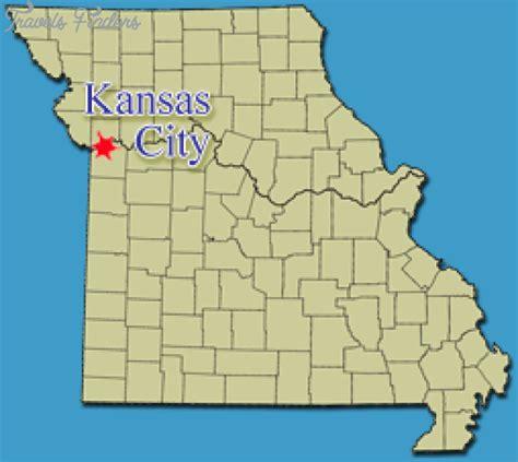 map of kansas city map of kansas city missouri travelsfinders