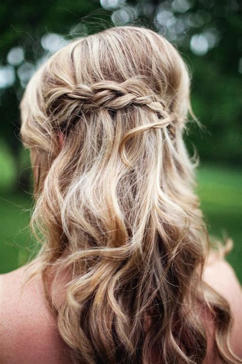 wedding hairstyles half up half down with braid and veil 23 stunning half up half down wedding hairstyles for 2016