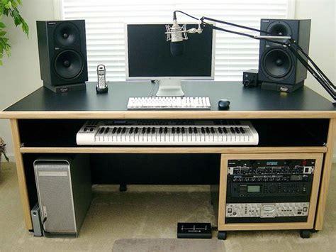 audio desk recording kk audio customizable keyboard desk lessonator com