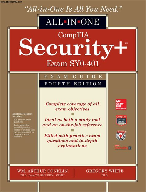 Comptia Security Sy0 401 In Depth comptia security all in one guide fourth edition