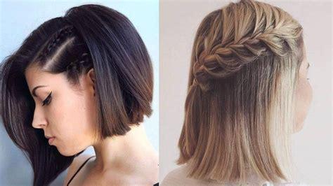 peinados cortos faciles 3 peinados faciles para cabello corto cabello