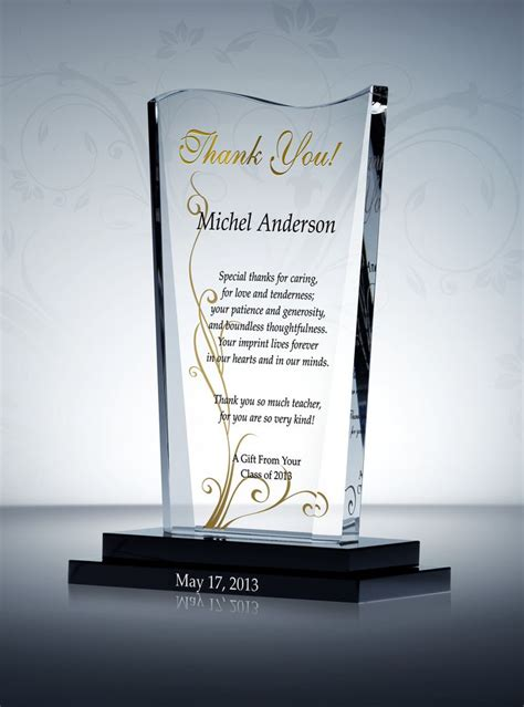 thank you letter for award at work 1000 images about appreciation and thank you gift plaques