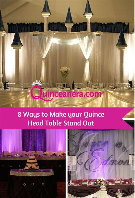155 best images about Quinceanera Decorations on Pinterest