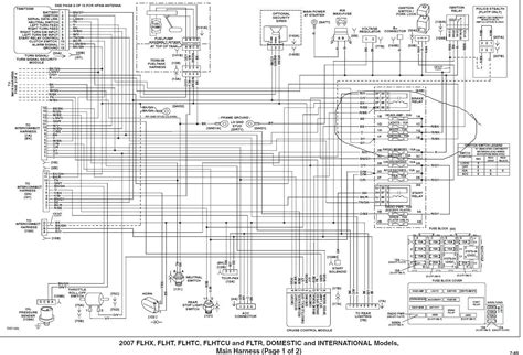 2009 harley flhx wiring diagram wiring diagram
