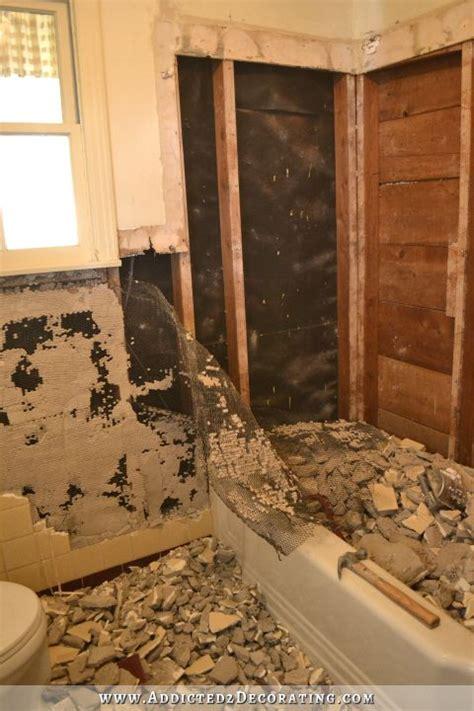 bathroom remodel diy demolition how much do i my husband this much