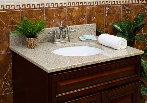 Granite Vanity Tops With Sink 43 Lesscare Gt Bathroom Gt Vanity Tops Gt Granite Tops Gt Wheat