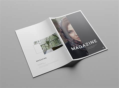 Indesign Sided Business Card Template Letter Paper by Simple Illustrator Magazine Template