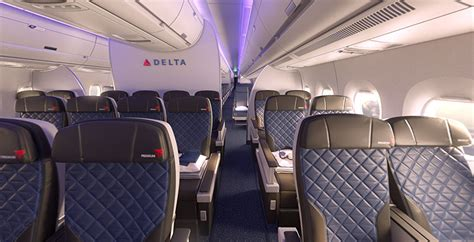 Delta 777 Interior by Delta Unveils New Airbus A350 Boeing 777 Premium Economy