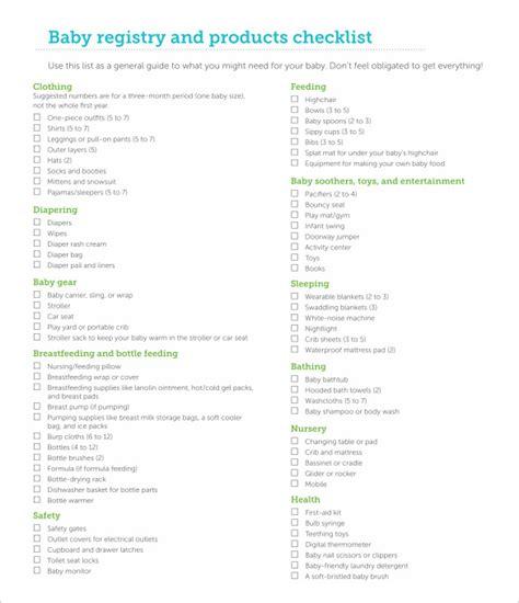 Wedding Registry Checklist Pdf by Checklist Template 38 Free Word Excel Pdf Documents