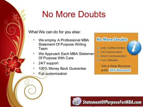 Bgc Trust Mba Admission by Statement Of Purpose For Mba