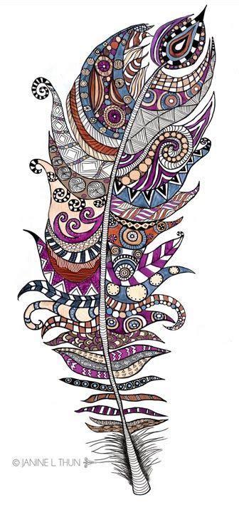 doodle faisal zentangle krabbels and veren on
