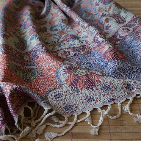 paisley rayon shawl arabesque dyc store