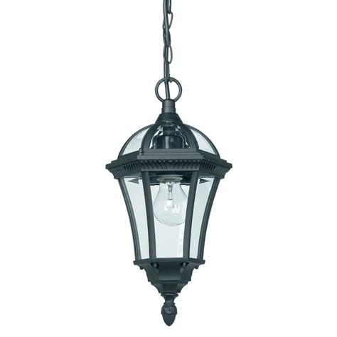Black Exterior Hanging Porch Lantern Pendant Light Haysoms Black Lantern Pendant Light