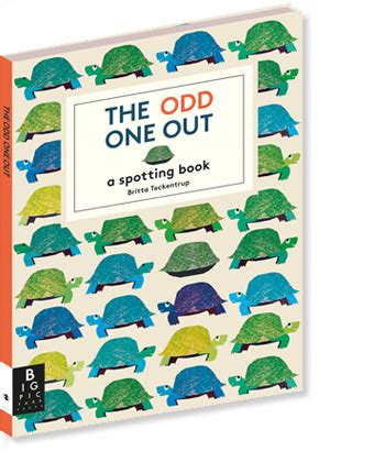 libro odd one out britta big picture press