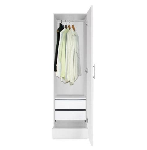 Narrow White Wardrobe With Drawers 1000 Ideas About Narrow Wardrobe On Built In
