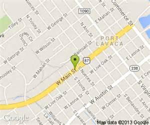 map of port lavaca el patio restaurant in port lavaca tx 548 west