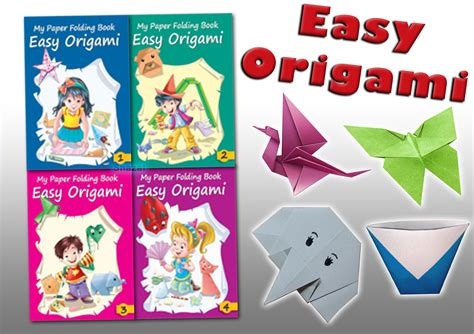 Easy Origami Book - easy origami children paper craft folding collection 4