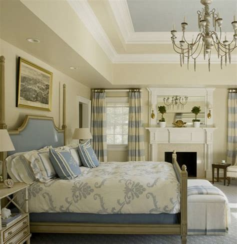 blue and cream bedroom blue and trey ceiling and cream on pinterest