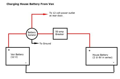 dual battery isolator wiring diagram wiring diagram