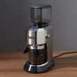 Delonghi Burr Coffee Grinder Delonghi Burr Coffee Grinder Crate And Barrel