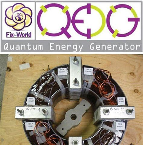 the quantum energy generator project