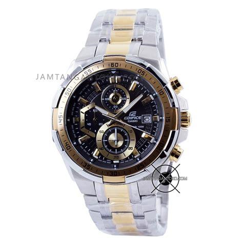 Jam Tangan Murah Original Edifice Efr 539sg 1avudf harga sarap jam tangan edifice efr 539sg 1av silver gold