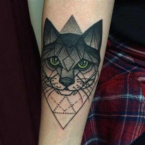 geometric cat tattoo 25 best ideas about geometric cat on