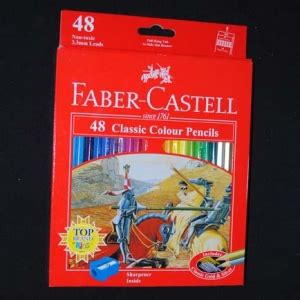 Pensil Warna Faber Castell 48 Classic Colour pensil warna faber castell classic colour 48