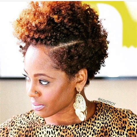 tapered short afro for women tapered natural natural love pinterest natural hair