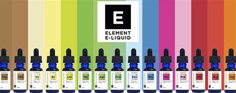 Creama Brand Element Premium Liquid best e liquid and e juice brands in the uk usa in 2018