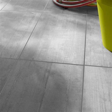 Carrelage Interieur Pas Cher 5227 by Carrelage Sol Gris Clair Effet B 233 Ton Industry L 30 5 X L