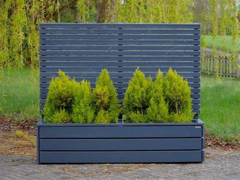 Pflanzen Als Sichtschutz Terrasse 880 by Pflanzkasten Mit Sichtschutz Anthrazit Grau Als