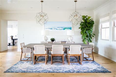 coastal dining room a coastal dining room designed by becki owens