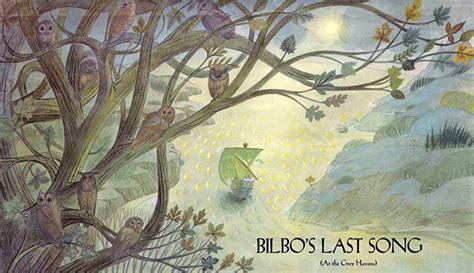 bilbos last song j r r tolkien s bilbo s last song nerdalicious
