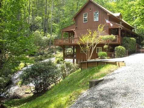 Cabin Rentals Nc by Carolina Mountains Waterfall Vacation Home Vrbo
