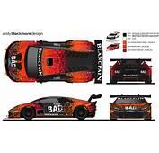 Livery BAD Lambo Racing Lamborghini Hurac&225n Super Trofeo