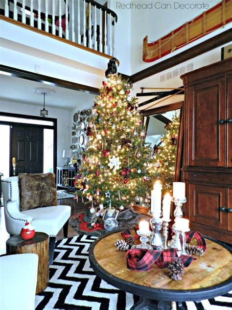 arrange living room with christmas tree my quot home for christmas quot tour redhead can decorate