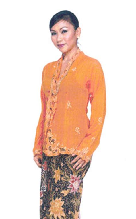 Asal Usul Baju Kebaya Nyonya crown pakaian tradisional malaysia