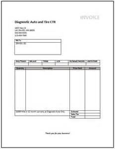Mechanics Invoice Template Mechanic Invoice Template Free Invoice Templates