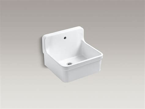 Scrub Up Sink standard plumbing supply product kohler k 12784 0 gilford 24 quot x 22 quot bracket mounted scrub up
