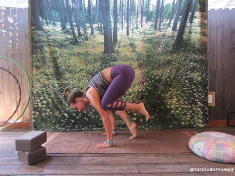 yoga tutorial videos download yoga tutorial crow pose the journey junkie