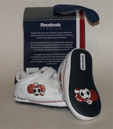 Size 2 Crib Shoes reebok classic white athletic crib shoes size 2 infant sport new in box