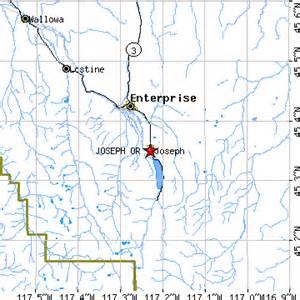 map of joseph oregon joseph oregon or population data races housing