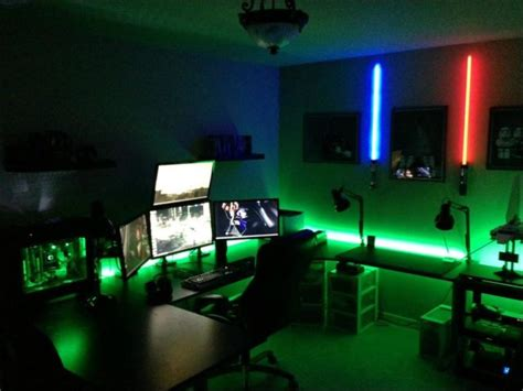 cool gaming bedroom ideas gaming rooms that are beyond awesome 24 pics izismile com
