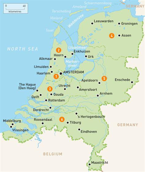 netherlands map pinotglobalcom
