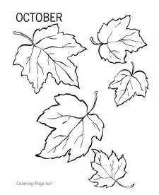 october coloring pages fall coloring book page october leaves